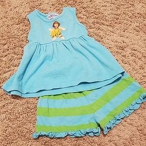 Other - Orient Express Hula girl shirt/short set